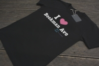 Black i love ny t-shirt