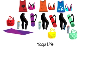 Yoga necessities set