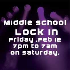 Midle school lock in